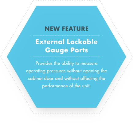 External Lockable Gauge Ports